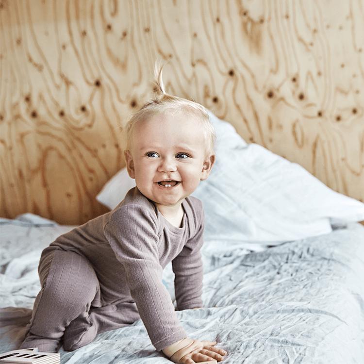 Därför ska ditt barn sova i ull