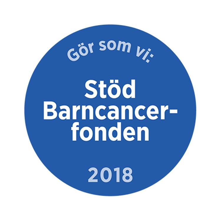 Tillsammans stöder vi Barncancerfonden