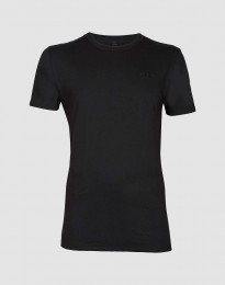 T-shirt i bomull herr svart