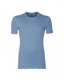 Premium Classic - Herr-t-shirt i bomull blå