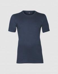 Premium Classic - Herr-t-shirt i bomull mörk blå