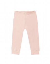 Babyleggings i ekologisk bomull rosa