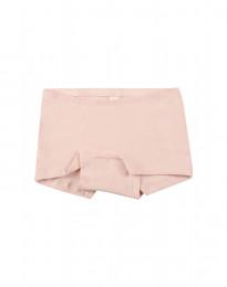 Barnhipster i bomull rosa