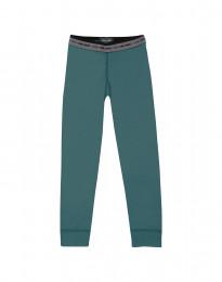 Leggings för barn - exklusiv merinoull turkos grön