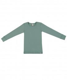 Barntröja - ekologisk merinoull ljusgrön