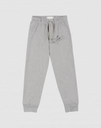 Pyjamasbyxor för barn gråmelerade