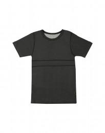 T-shirt barn i ekologisk bomull mörkgrön