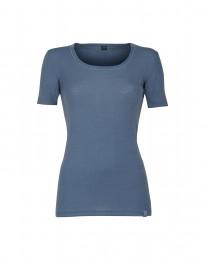 Merino T-shirt til damer Dueblå