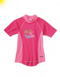 UV-skyddande barn-t-shirt pink