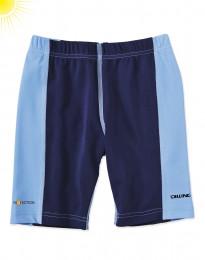 UV-skyddande barnshorts blå