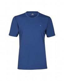 T-shirt för herr med UV-skydd UPF 50+ blå