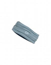 Tubhalsduk i exklusiv merinoull mineralblå