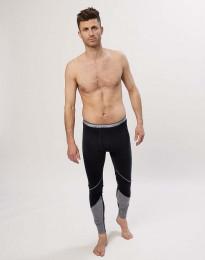 Leggings i ekologisk, exklusiv merinoull svart