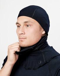 Balaclava för män - ekologisk exklusiv merinoull svart