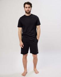 Shorts för herrar i bomull svarta
