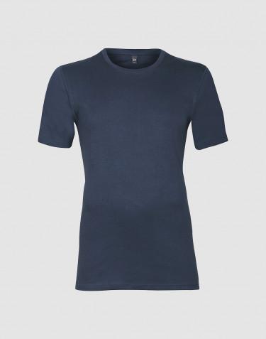 Premium Classic - t-shirt i bomull, herr mörk blå