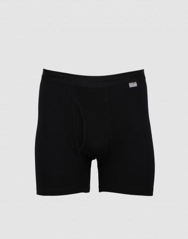 Stora DILLING boxershorts i bomull med gylf svart