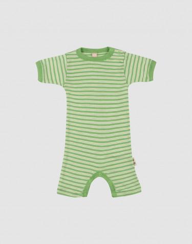 Sommardräkt för baby i ekologisk ull/siden