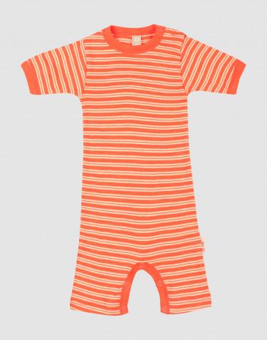 Sommerdräkt i merinoull/siden för baby