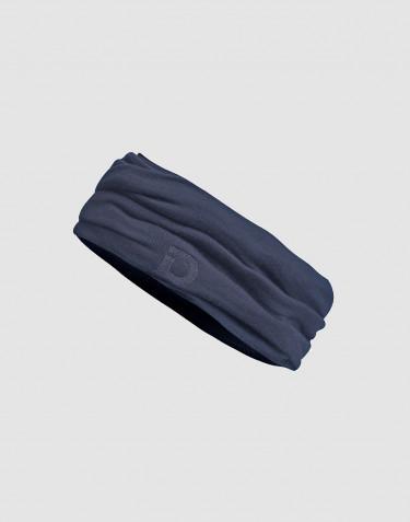 Tubhalsduk för barn - exklusiv ekologisk merinoull blågrå
