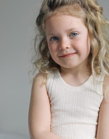 Linne i merinoull för barn