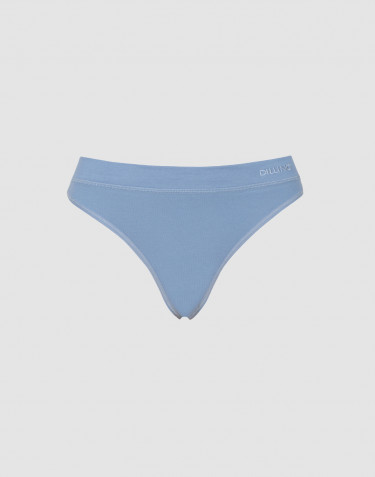 Dilling stringtrosor för kvinnor bomull blå