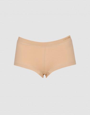 Hipstertrosa i ekologisk bomull/elastan beige