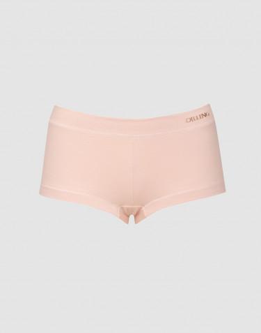 Hipstertrosa i ekologisk bomull/elastan rosa