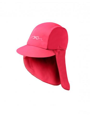 Solhatt för barn med UV-skydd UPF 50+ rosa