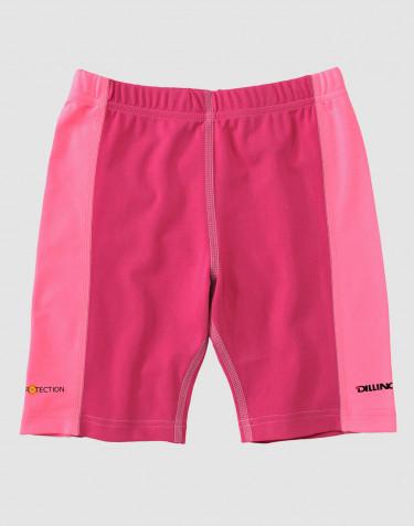 UV-skyddande shorts för barn pink