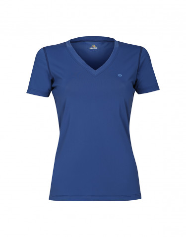 T-shirt för dam med UV-skydd UPF 50+ blå