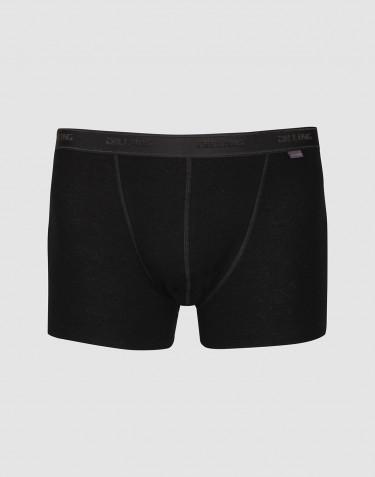 Stora DILLING boxershorts i merinoull svart