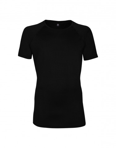 T-shirt herr - exclusive merinoull svart
