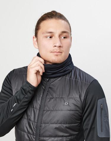 Tubhalsduk för män i exklusiv merinoull svart