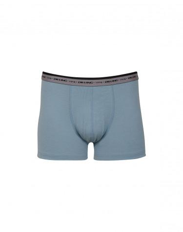 Boxershorts - exklusiv merinoull mineralblå