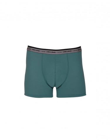 Boxershorts - exklusiv merinoull blågrön