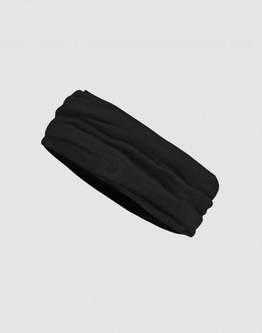 Tubhalsduk för män i ekologisk exklusiv merinoull svart