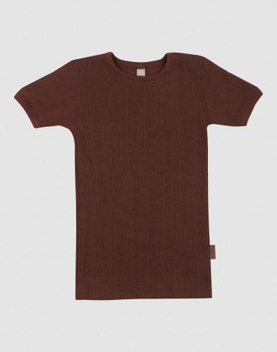 T-shirt i merinoull för barn