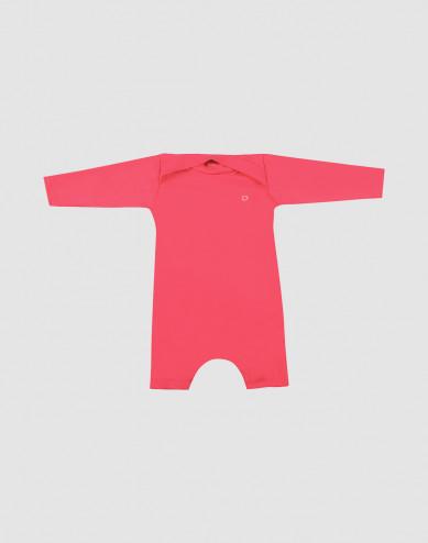 Babydräkt med UV-skydd UPF 50+ rosa