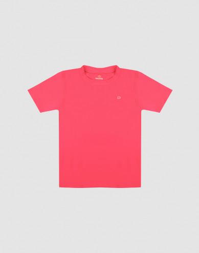 T-shirt för barn med UV-skydd UPF 50+ rosa