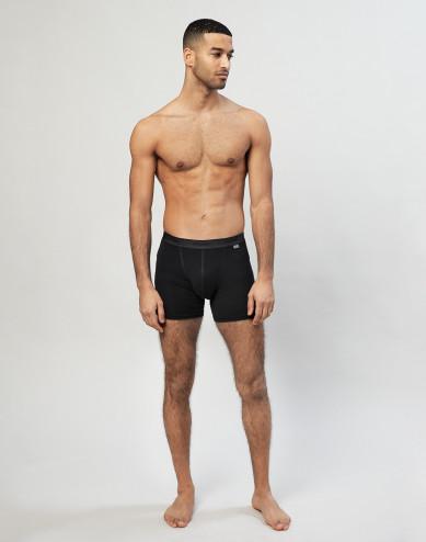 Boxershorts i merinoull svart